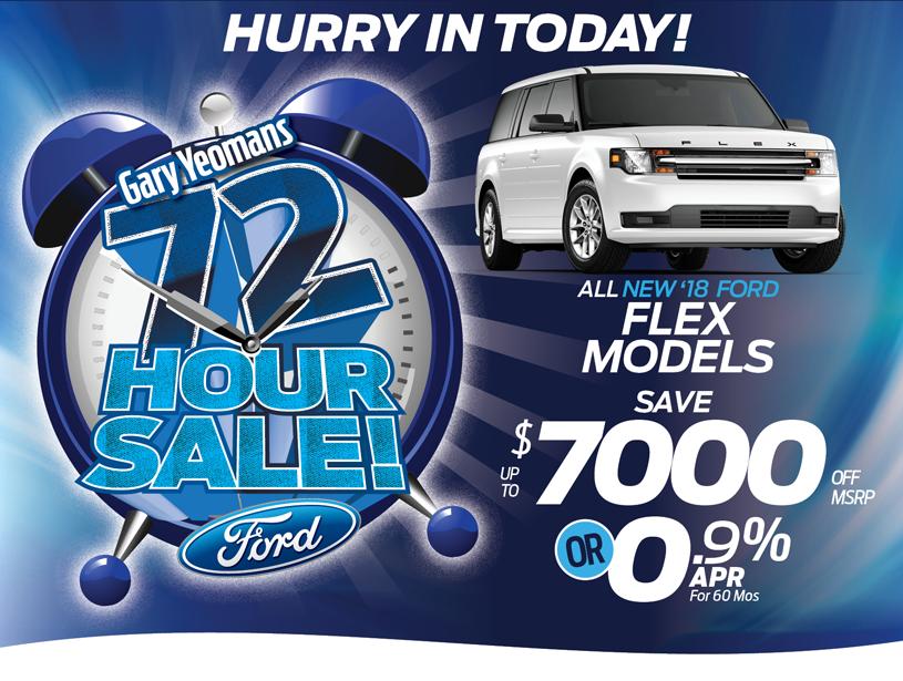 Ford Fl Dealer Flex Special Offer